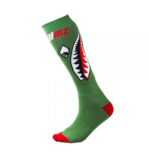 Socken Bomber Green