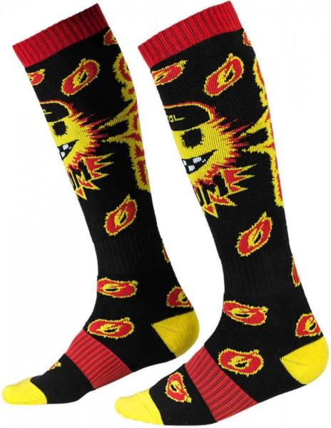 Socken Boom black/yellow