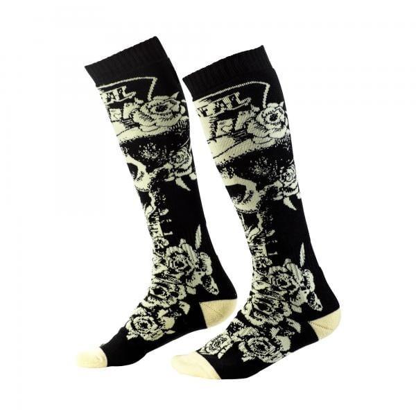 Socken Tophat black/beige